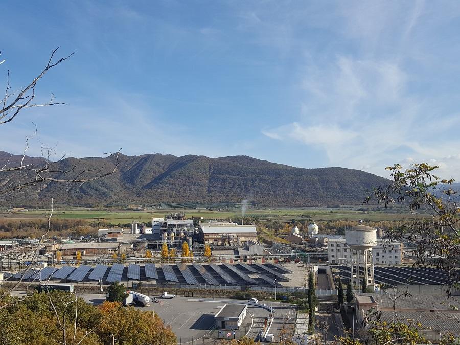 Centrale solaire sur une friche industrielle en Corse