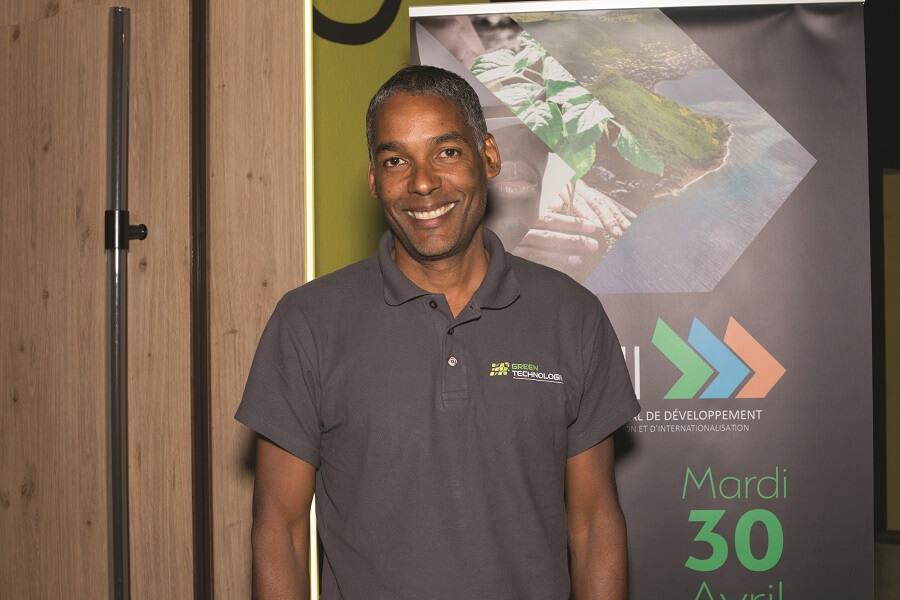 Créateur de la startup Green Technologie, soutenue par la CTM