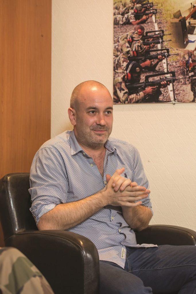 Jean-Bernard Lebeau, chef d'entreprise de Vilea, partenaire du RSMA