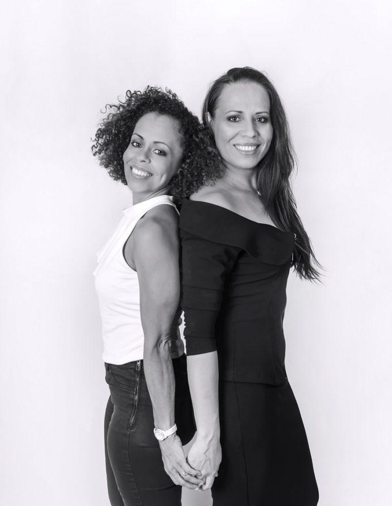 Bernadette Romian et Regina Pamphile de l'agence Job intérim Guyane