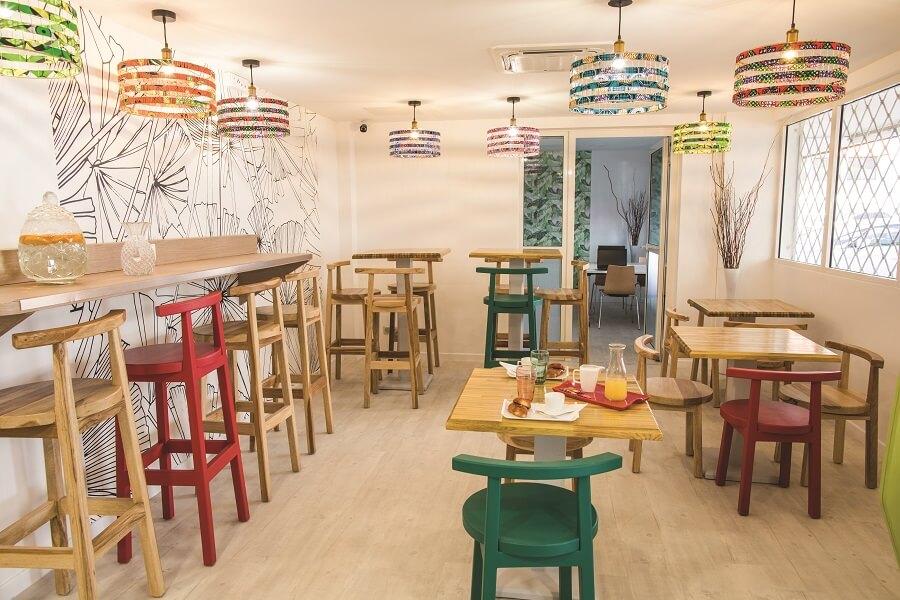 Lo K Food, espace de restauration de Lo K Dom