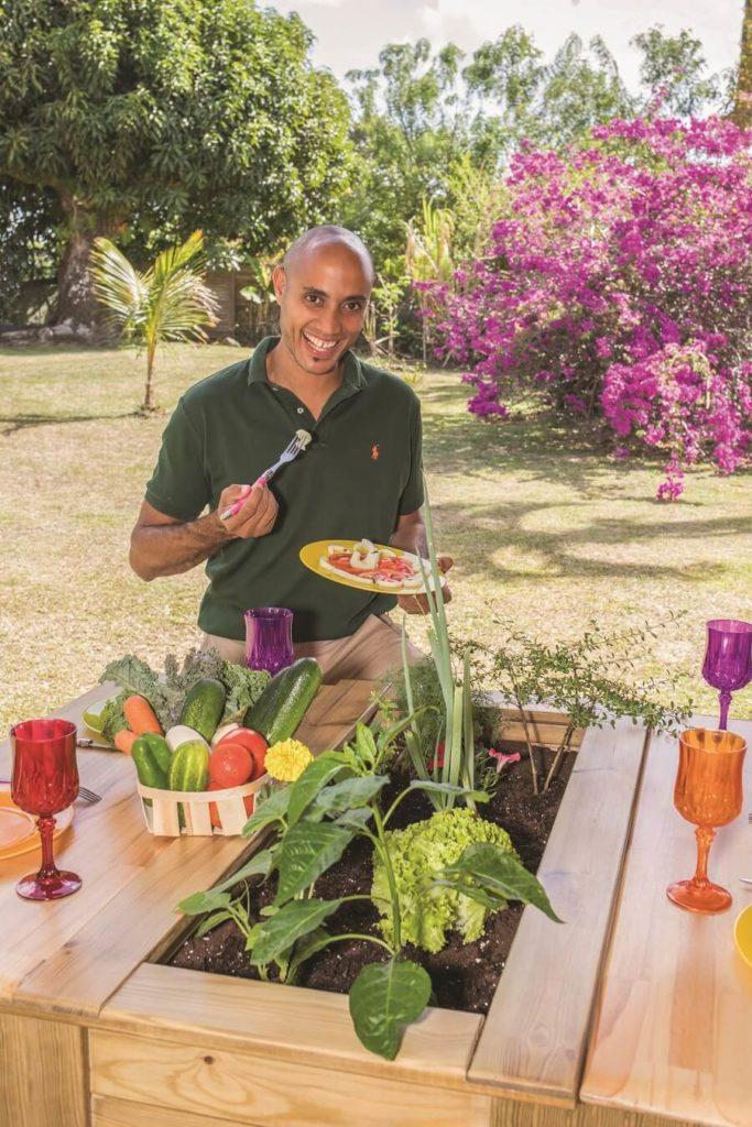 Fabrice Ederique, créateur des potagers bios Mister Green en Martinique