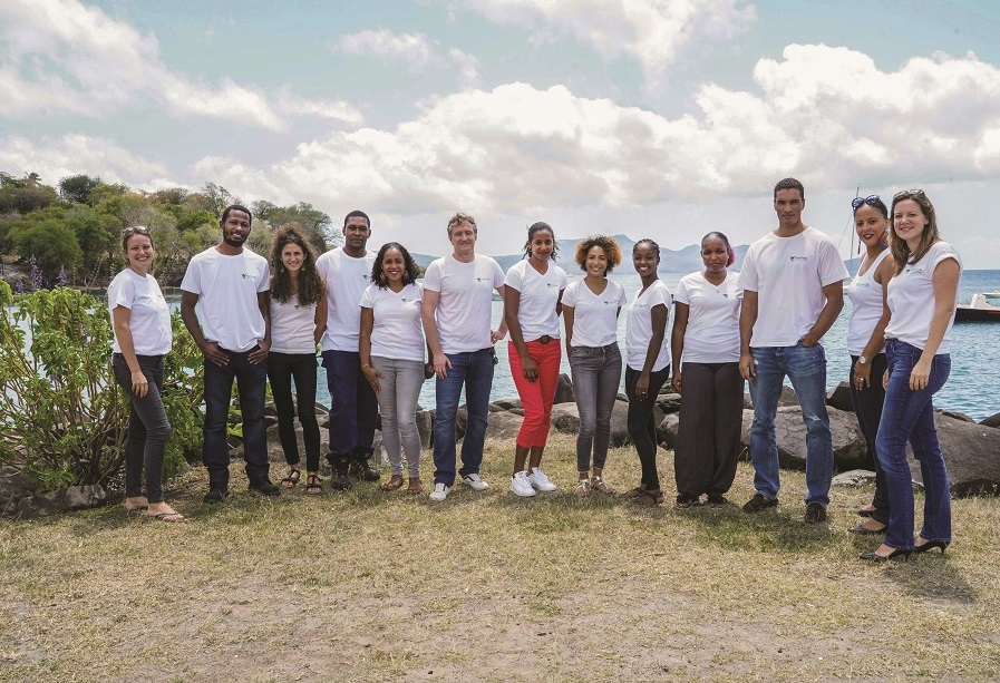 Equipe de Madininair,observatoire de l'air en Martinique
