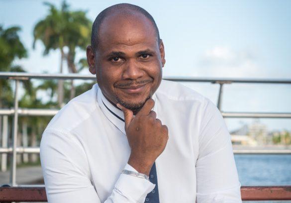 Loic Martol, président de l'association Réflex' Guadeloupe