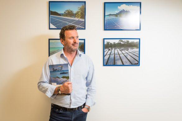 Alain Lafont, directeur de Sunzil, spécialiste du photovoltaïque en Outre-mer