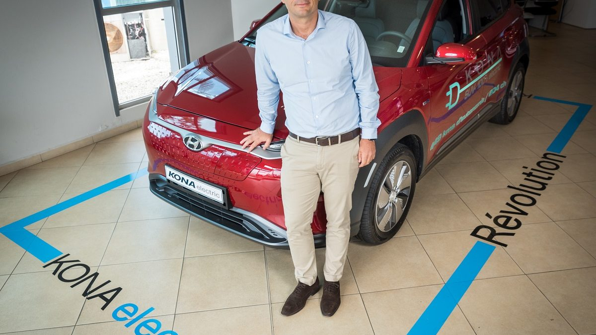 HYUNDAI Guadeloupe présente le SUV Kona Electric