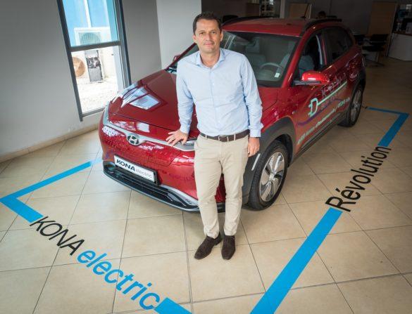 Le SUV Kona Electric à la concession SGDM en Guadeloupe