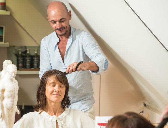 Romain Renaud, coiffeur thérapeute chez New Hair à Jarry