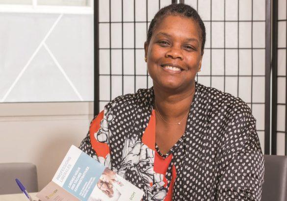 Sonia Hight, créatrice de Vitale DOM, service de gestion administrative pour les professionnels de santé