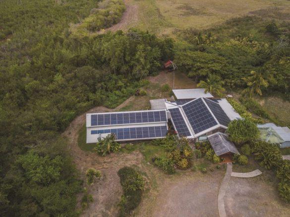 Location de la toiture en Martinique pour une centrale photovoltaïque