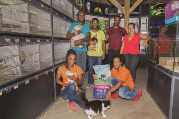 Equipe de l'Animalerie du Nord en Martinique