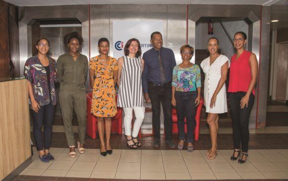 Equipe de la CCI Martinique