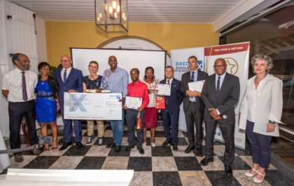 Remise des prix Stars et Métiers 2019 de la CMAR Martinique lors de la Semaine Nationale de l'Artisanat