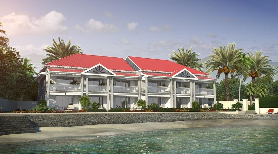 Projet immobilier Oasis du Groupe Michel Brizard à Saint-Martin