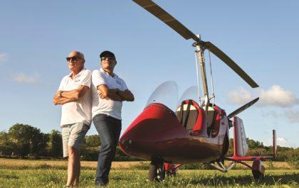 Créateurs SXM Gyrocopter, agence de location d'ULM