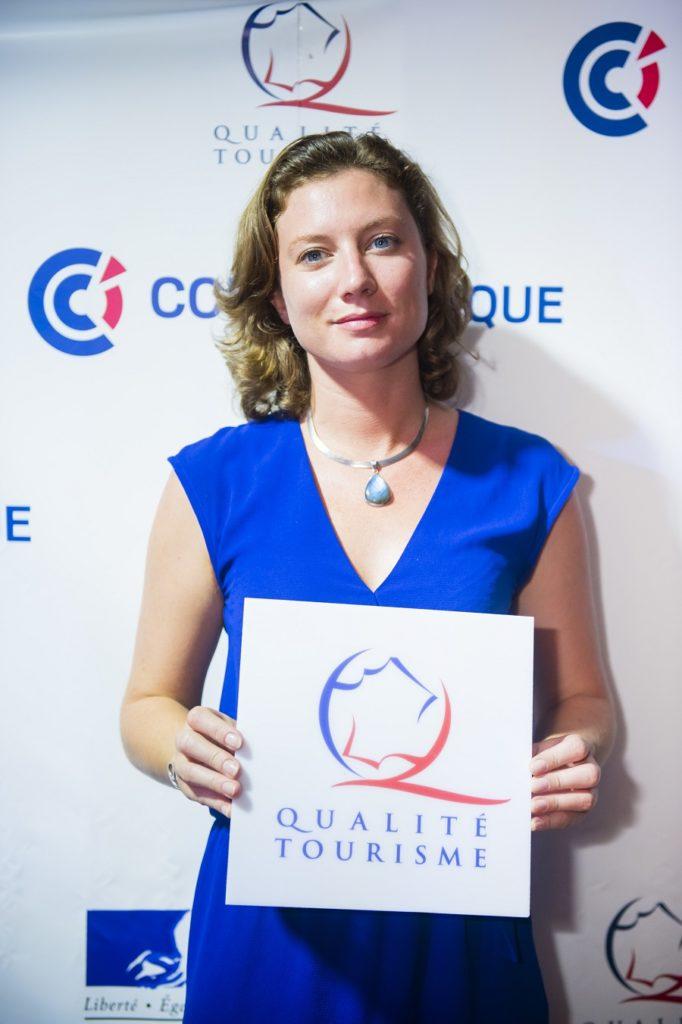Elodie Bidault-Deschaumes de l'hôtel La Pagerie
