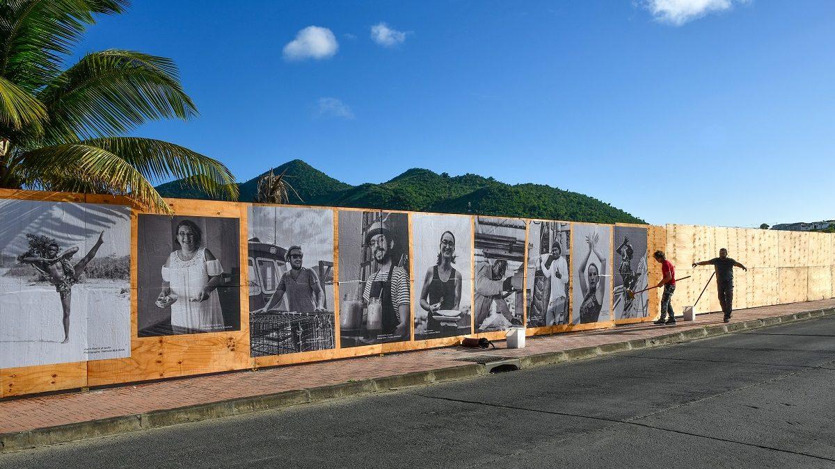 Faces of Saint-Martin II : une exposition éphémère de street art