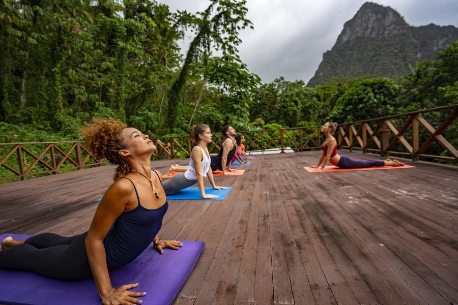 Yoga à Sainte-Lucie