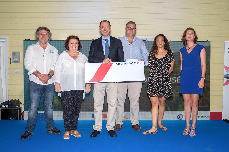Remise du prix Air France à la cérémonie Qualité Tourisme de la CCIM