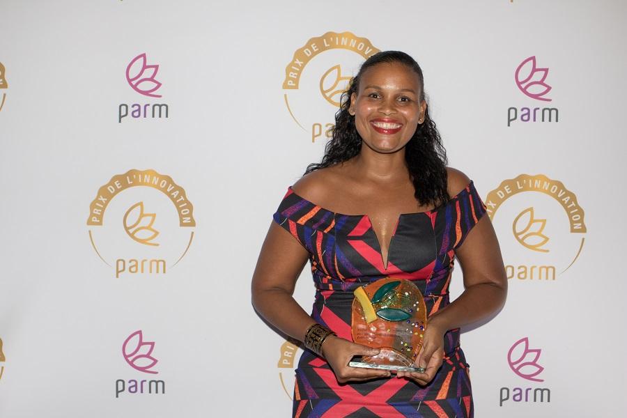 Kilouma, lauréate du Prix de l'Innovation 2019 du PARM