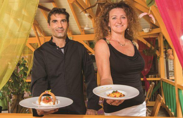 Chef et gérante du restaurant La Mandoline aux Trois-Ilets