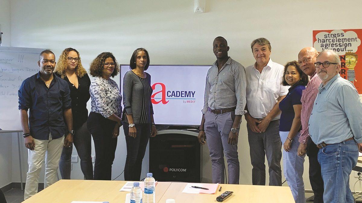 MEDEF Guyane accueille l'Academy by MEDEF