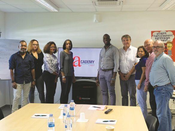 Membres du Medef Guyane à l'Academy by Medef