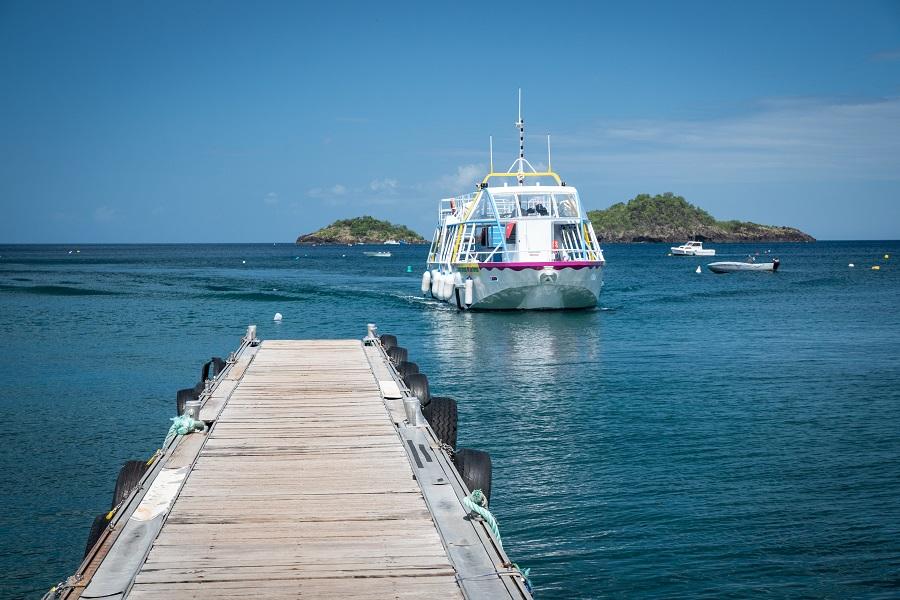 Bateau Nautilus à Bouillante en Guadeloupe