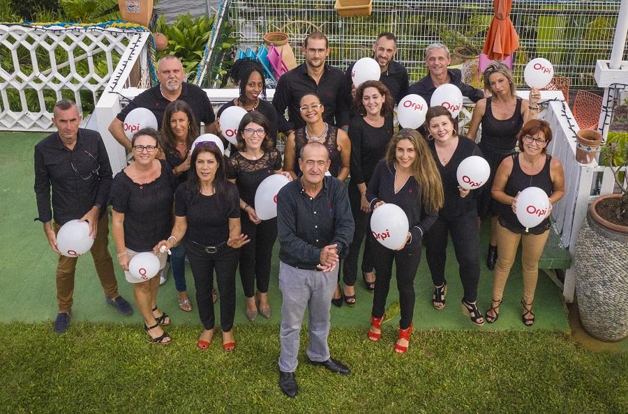 Membres de l'équipe Orpi Guadeloupe