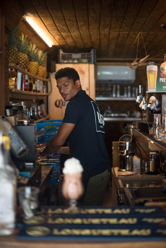 Rainer Boucard du restaurant Bliss au Gosier en Guadeloupe