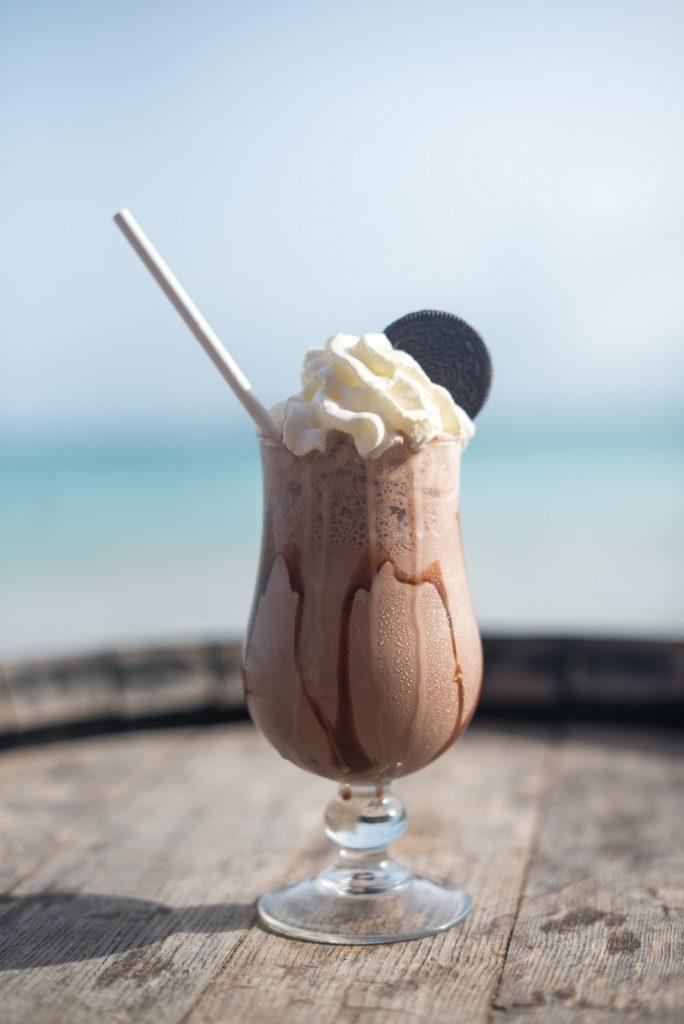 Milkshake au Restaurant Bliss au Gosier en Guadeloupe