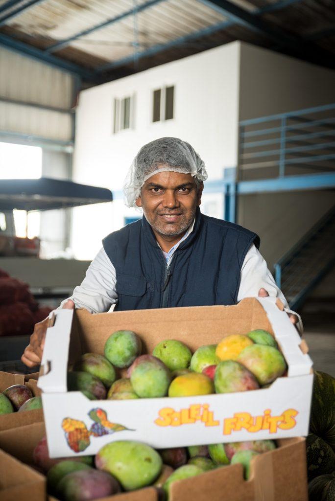 Tony Mohamedaly, agriculteur labellisé Produits d'ici par Carrefour Guadeloupe