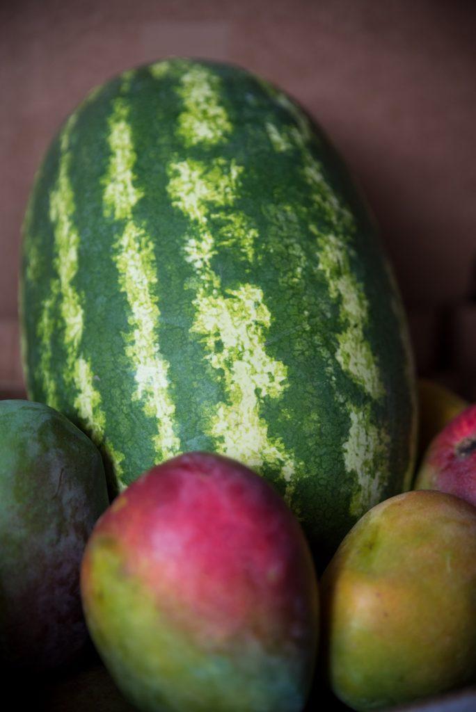 Fruits de l'agriculteur Tony Mohamedaly en Guadeloupe