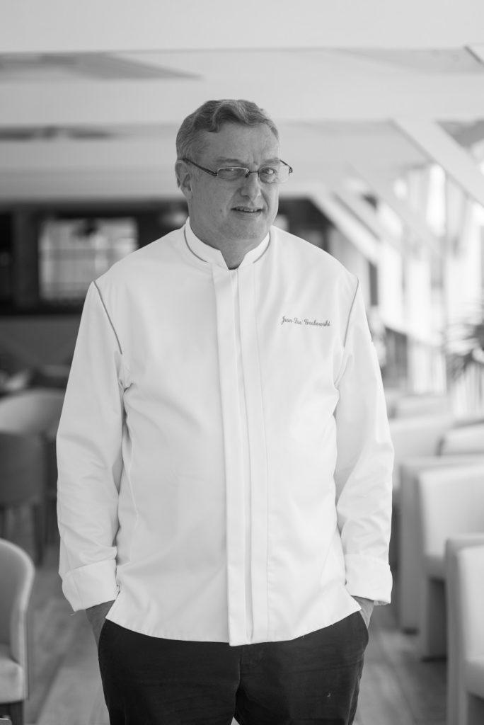 Chef du restaurant de l'hôtel Le Relais du Moulin en Guadeloupe