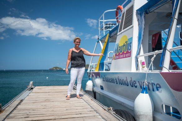 Sandra Perez, dirigeante des bateaux Nautilus