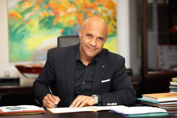 Daniel Gibbs de la collectivité de Saint-Martin