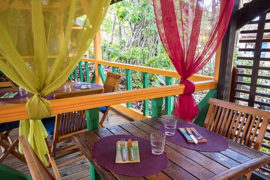 Décoration du restaurant de La Mandoline