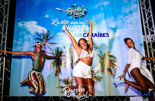 Animation Air Caraibes au Baccha Festival