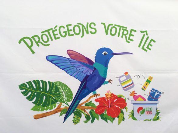 Slogan d'EcoDDS aux Antilles