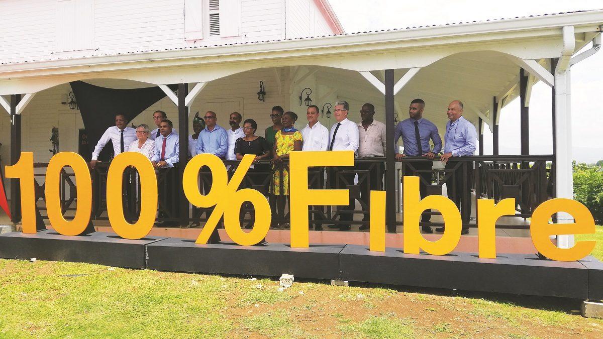 Orange : la fibre optique dans 13 communes de Guadeloupe