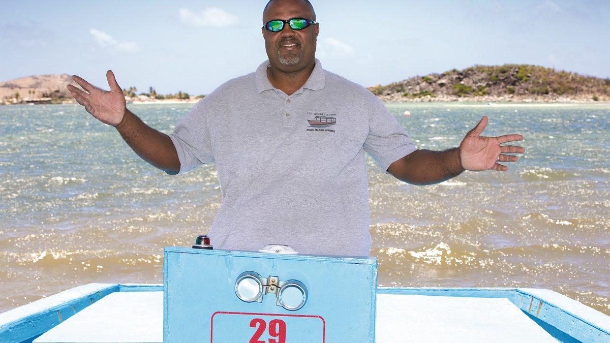 Rencontre avec Vanion Hodge, passeur de l'îlet Pinel