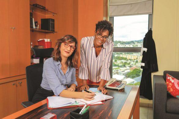 Maîtres Isabelle Ollivier et Gladys Berose, expliquant le CSE pour les entreprises