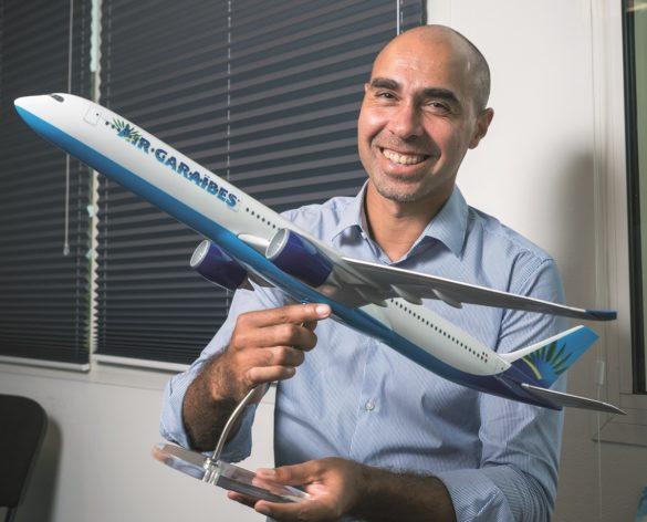Yoann Paulin, directeur général délégué d'Air Caraibes
