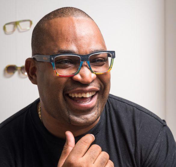 Richard Trèfle, créateur lunetier de la marque Bellatrix