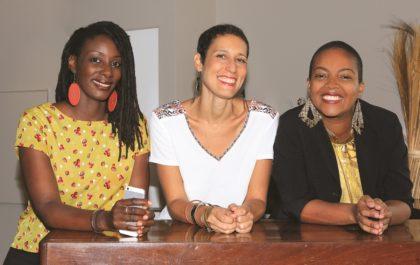 Co-fondatrices du réseau Bizness Mam en Martinique