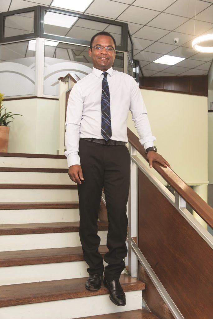 Jean-Luc Pierrelas, directeur de l'agence BNP Paribas de Cayenne