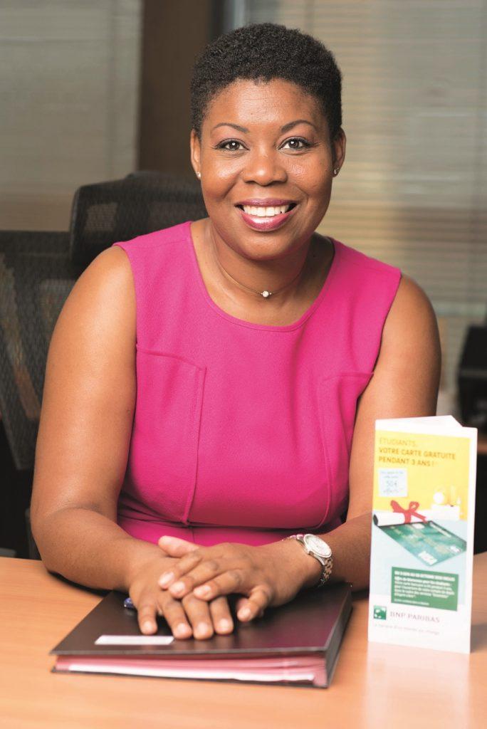 Guilène Martial, directrice de BNP Paribas Abymes en Guadeloupe