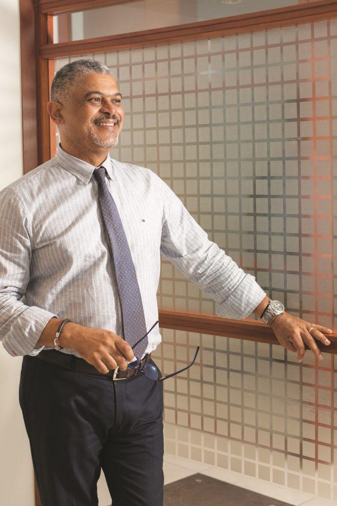 Miguel de Vassoigne, directeur de l'agence BNP Paribas à Fort-de-France