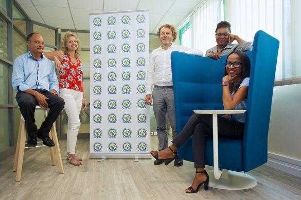 Equipe de la CAAG, association d'assureurs aux Antilles-Guyane