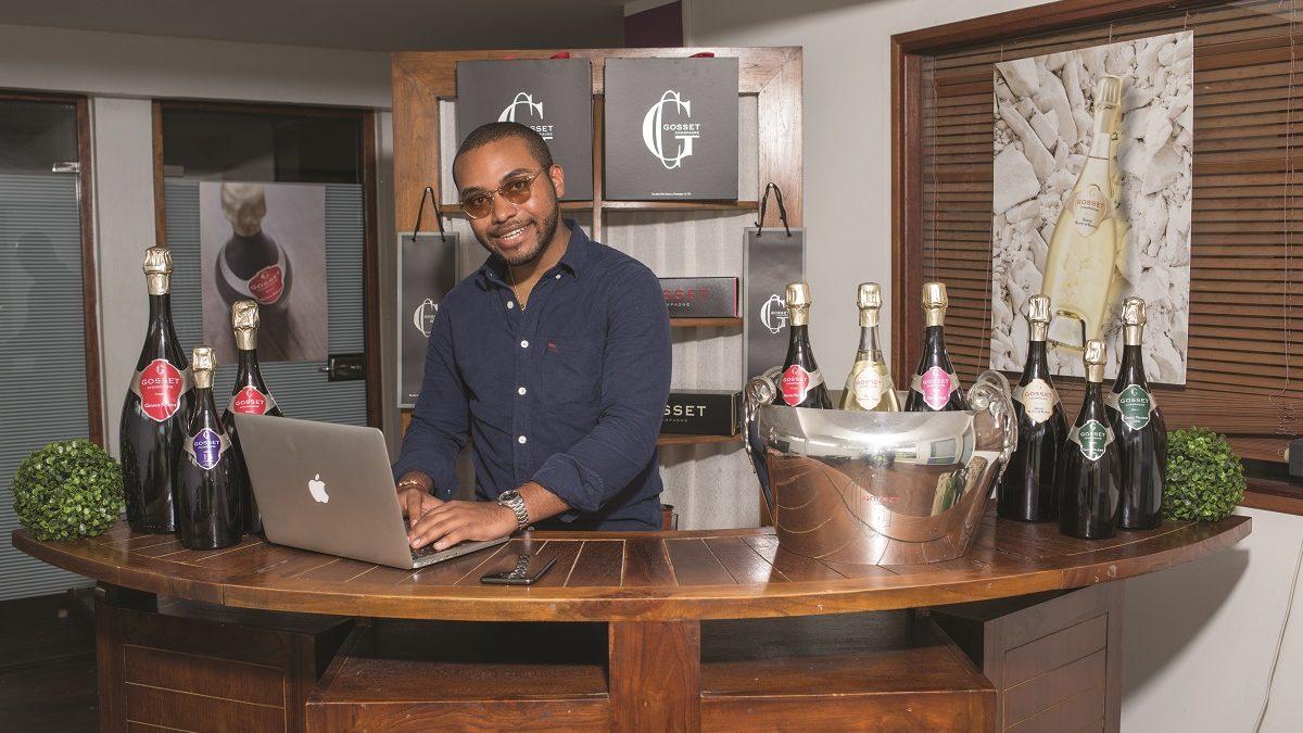 Un jeune entrepreneur martiniquais au service de la Maison Gosset